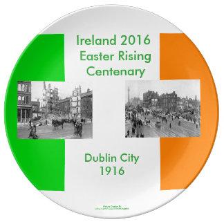 1916 Irish image for Decorative-Porcelain-Plate Plate