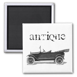 1916 Vehicle 2 Inch Square Magnet