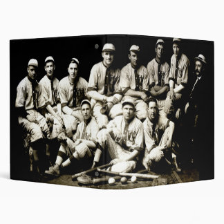 1917 Baseball Team 3 Ring Binder