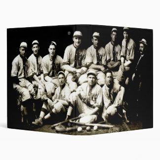1917 Baseball Team 3 Ring Binder