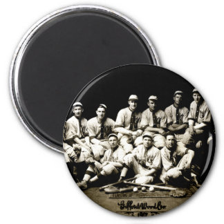 1917 Baseball Team Magnet