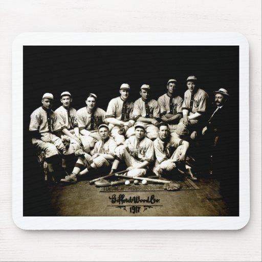 1917 Baseball Team Mouse Pads