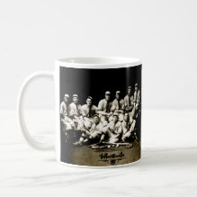1917 Baseball Team Mug - 1917 Baseball team from the Gifford Wood Company.
