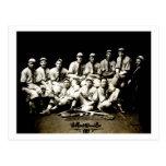 1917 Baseball Team Postcard