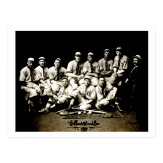 1917 Baseball Team Postcard