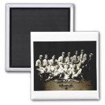 1917 Baseball Team Refrigerator Magnet