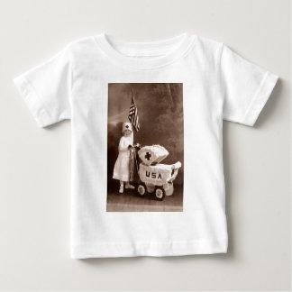 1917 Patriotic Nurse Baby T-Shirt