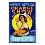 1917 San Bernardino Poster Card