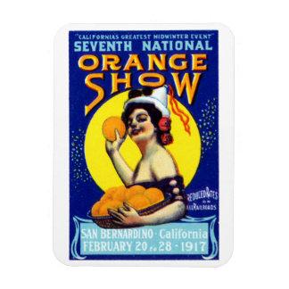 1917 San Bernardino Poster Rectangular Photo Magnet