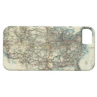 1918 AAA General Map of Transcontinental Routes iPhone 5 Case