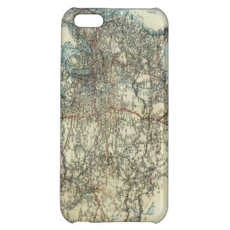 1918 AAA General Map of Transcontinental Routes Case For iPhone 5C