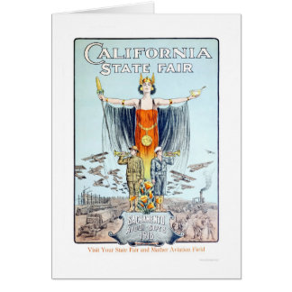 1918 California State Fair Card