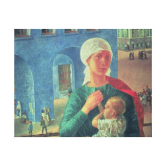 1918 in Petrograd, 1920 Gallery Wrapped Canvas
