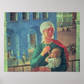 1918 in Petrograd, 1920 Poster