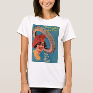 1918 Kelly Springfield tires ad Keep Smiling T-Shirt