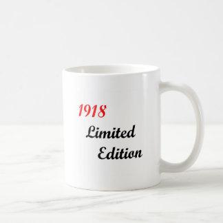 1918 Limited Edition Classic White Coffee Mug
