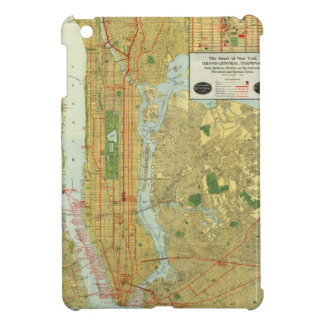 1918 New York Central Railroad Map Cover For The iPad Mini