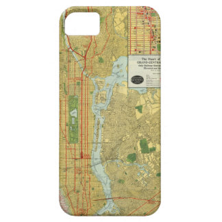1918 New York Central Railroad Map iPhone 5 Cover