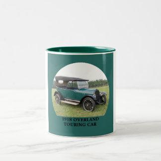 1918 Overland Touring Car Two-Tone Coffee Mug