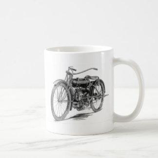 1918 Vintage Motorcycle Classic White Coffee Mug