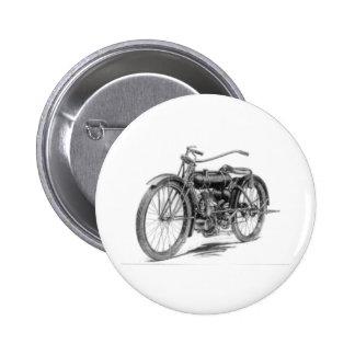1918 Vintage Motorcycle Pinback Button