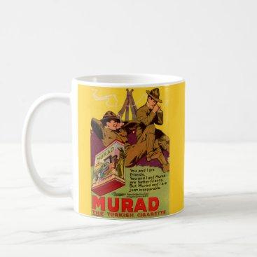 1918 WWI Murad cigarettes ad Coffee Mug