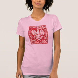 1919 10h Polish Eagle Stamp T Shirt