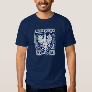 1919 50h Polish Eagle Stamp T-shirt