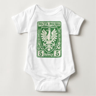 1919 5h Polish Eagle Stamp Tee Shirt