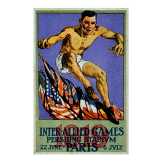 1919 Allied Games Poster