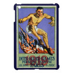 1919 Allied Games Poster iPad Mini Case