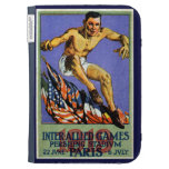 1919 Allied Games Poster Kindle 3 Case