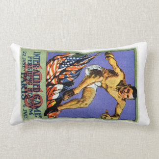 1919 Allied Games Poster Pillow