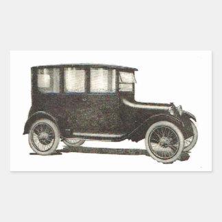 1919 Automobile Rectangular Sticker