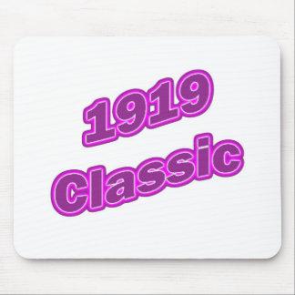 1919 Classic Purple Mouse Pad