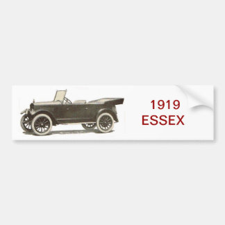 1919 ESSEX Automobile Bumper Sticker