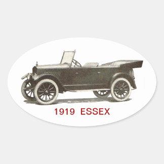 1919 ESSEX Automobile Oval Sticker