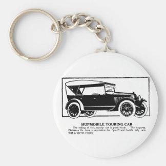 1919 Hupmobile Touring Car Advertisement Keychain