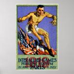 1919 juegos aliados posters