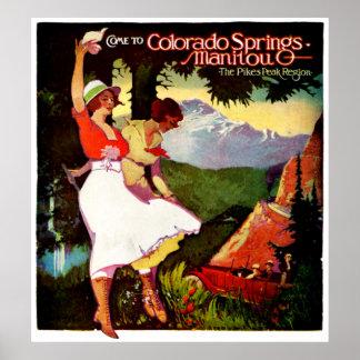 1919 lucios enarbolan el poster de Colorado
