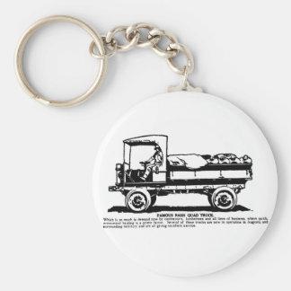 1919 Nash Truck illustration Keychain