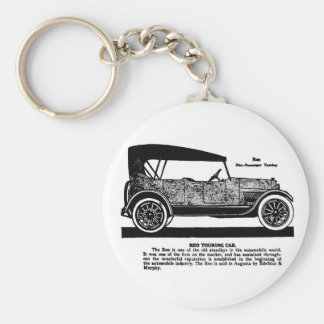 1919 REO Touring Car advertisement Keychain
