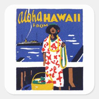 1920 Aloha from Hawaii Stickers