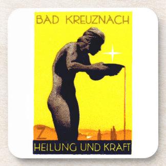 1920 Bad Kreuznach Germany Drink Coasters