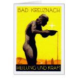 1920 Bad Kreuznach Germany Greeting Card