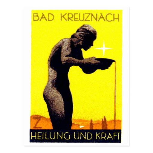 1920 Bad Kreuznach Germany Post Cards