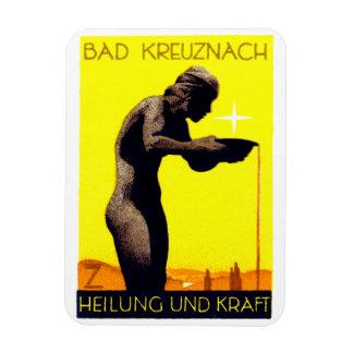 1920 Bad Kreuznach Germany Rectangular Photo Magnet