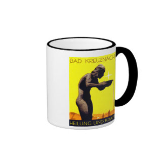 1920 Bad Kreuznach Germany Ringer Coffee Mug