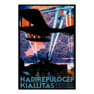 1920 Budapest Air Show Poster