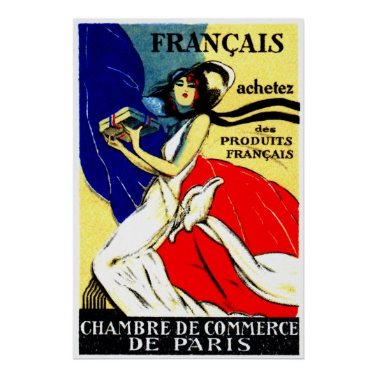 1920 Buy French Products Poster